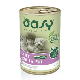 OASY Patè Adult Light & Fat 400 gr. -
