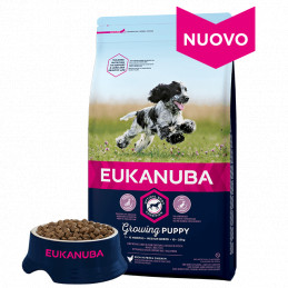 Eukanuba Puppy Medium 15+3 kg. -