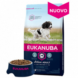 Eukanuba Adult Medium 12 Kg. -
