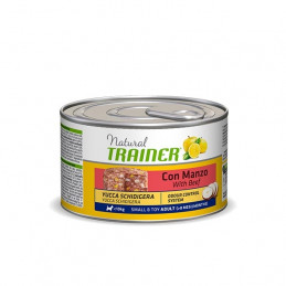 TRAINER Natural Adult Small & Toy con Manzo 150 gr. -