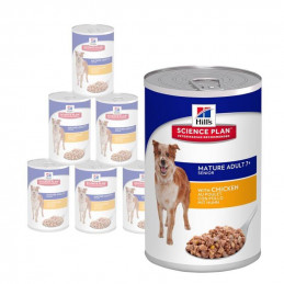 Hill's Science Plan Mature/Senior canine pollo 370 gr umido per cani Anziani 7 + -
