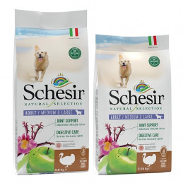SCHESIR Natural Selection Adult Medium & Large con Tacchino 2,24 kg. -