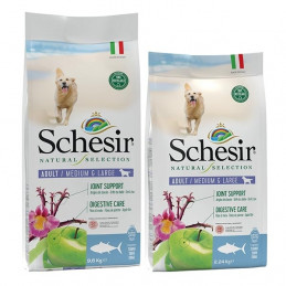 SCHESIR Natural Selection Adult Medium & Large con Tonno 2,24 kg. -