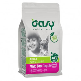 OASY One Animal Protein Adult Small&Mini con Cinghiale 800 gr. -