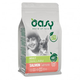 OASY One Animal Protein Adult Small&Mini con Salmone 800 gr. -