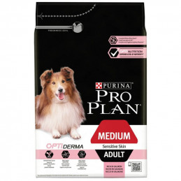 Proplan Adult Medium Sensitive Skin Optiderma 14 kg -