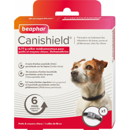 BEAPHAR Canishield Collare cane piccolo/Medio -