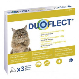 Duoflect gatti 1-5 kg 3 spot on pipette -