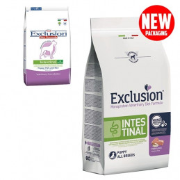 EXCLUSION Diet Intestinal Maiale e Riso Puppy All Breed 800 gr. -