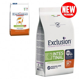 EXCLUSION Diet Intestinal Medium/Large Breed Maiale e Riso 2 kg. -