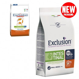 EXCLUSION Diet Intestinal Small Breed Maiale e Riso 7 kg. -