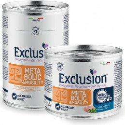 Exclusion Diet Metabolic & Mobility Maiale e Riso 200 gr. -