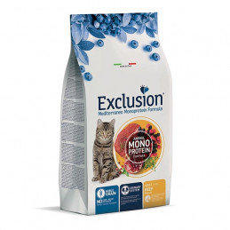 EXCLUSION Mediterraneo Monoproteco Adult All Breeds Manzo 300 gr. -