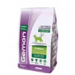 GEMON Gemon Cat Indoor con Pollo e Riso 400 gr. -