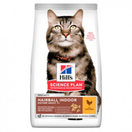 Hill's Gatto adult Hairball Indoor 1,5 kg. -