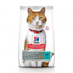 HILL'S Science Plan Adult Sterilised Cat con Tonno 1,5 kg. -