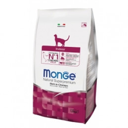 MONGE Natural Superpremium Indoor Ricco di Pollo 400 gr. -