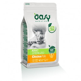 OASY Dry Adult Sterilized con Pollo 1,50 kg. -