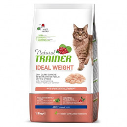 TRAINER Natural Adult Ideal Weight Care con Carni Bianche 1,50 kg. -