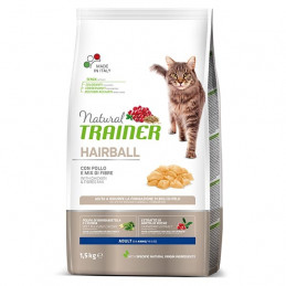 TRAINER Natural Cat Hairball Adult con Pollo 1,5 kg. -