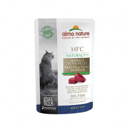 ALMO NATURE  HFC Natural Plus Filetto Di Tonno Skipjack 55 gr. -