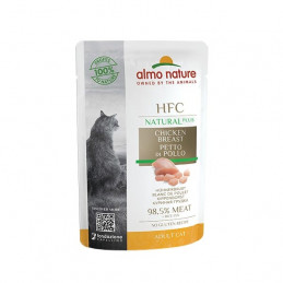 ALMO NATURE  HFC Natural Plus Petto Di Tonno Skipjack 55 gr. -