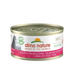 ALMO NATURE HFC Natural Plus Pollo con Fegatini 55 gr. -