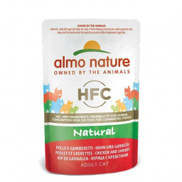 ALMO NATURE HFC Natural Plus Pollo con Gamberetti 55 gr. -