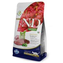 Farmina n&d quinoa gatto digestion agnello 1,5 kg -
