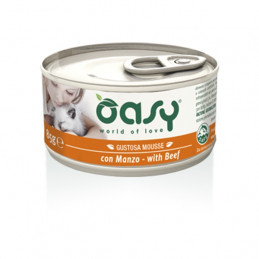 OASY Gustosa Mousse con Manzo 85 gr. -