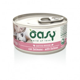 OASY Gustosa Mousse con Salmone 85 gr. -
