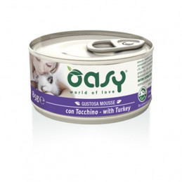OASY Gustosa Mousse con Tacchino 85 gr. -