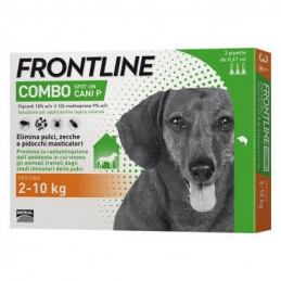 Frontline combo small dogs...