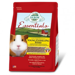 OXBOW ANIMAL HEALTH Essentials Young Guinea Pig Food 2.27 kg. -