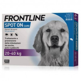 Frontline spot on cani grandi 4 pipette 2,68 ml 20-40 kg -