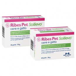 Ribes Pet Dog-cat relief 60 pearls -