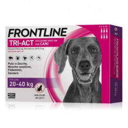 Frontline tri-act 6 pipette 4 ml 20-40 kg -