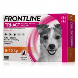 Frontline tri-act 6 pipette 1 ml 5-10 kg -