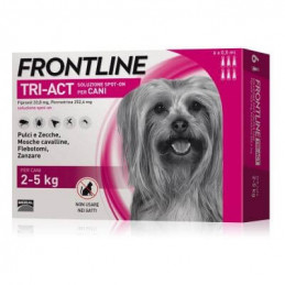 Frontline tri-act 6 pipette 0,5 ml 2-5 kg -