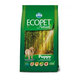 Ecopet Natural Puppy Medium 12 Kg. -