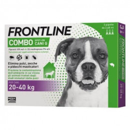Frontline combo large dogs...