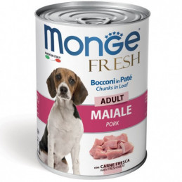 MONGE CANE  FRESH ADULT MAIALE lattina 400 gr. -