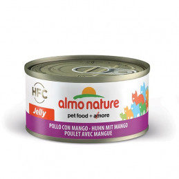 Almo Nature Gatto HFC Jelly Pollo con Mango gr.70 X 6 lattine -