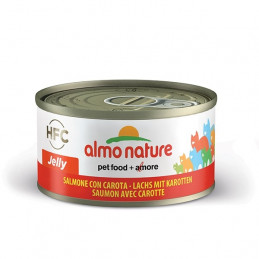 Almo Nature Gatto HFC Jelly Salmone con Carota gr.70 X 6 lattine -