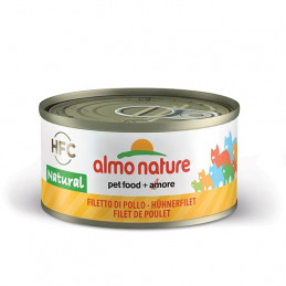 Almo Nature Gatto HFC Natural Filetto di Pollo gr.70 X 6 lattine -