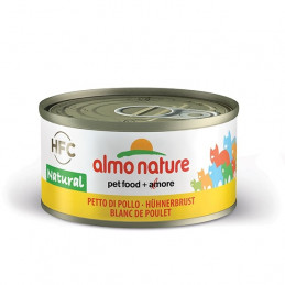 Almo Nature Gatto HFC Natural Petto di Pollo  gr.70 X 6 lattine -
