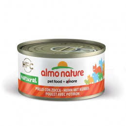 Almo Nature Gatto HFC Natural Pollo con Zucca gr.70 X 6 lattine -