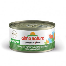 Almo Nature Gatto HFC Natural Tonno del Pacifico gr.70 X 6 lattine -