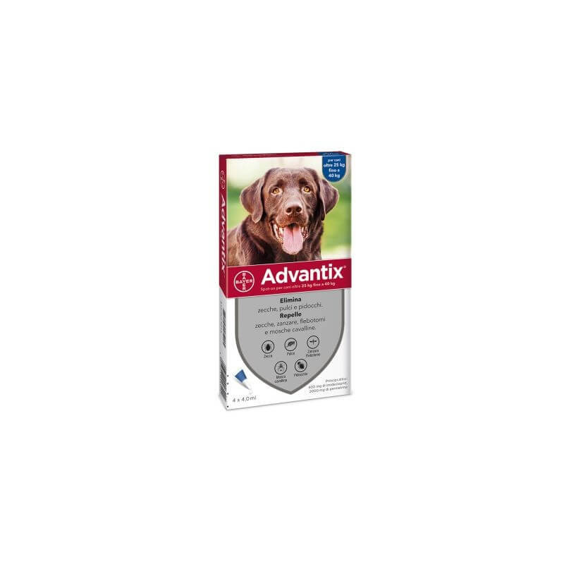 Advantix Spot-On per cani oltre 25 kg -