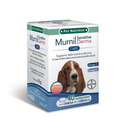 Bayer murnil sensitive derma 40 compresse -